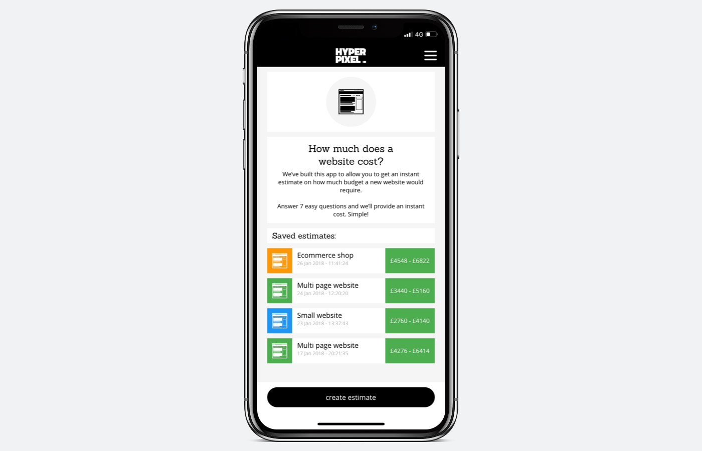 Hyper Pixel launches new Web-Quote iOS app