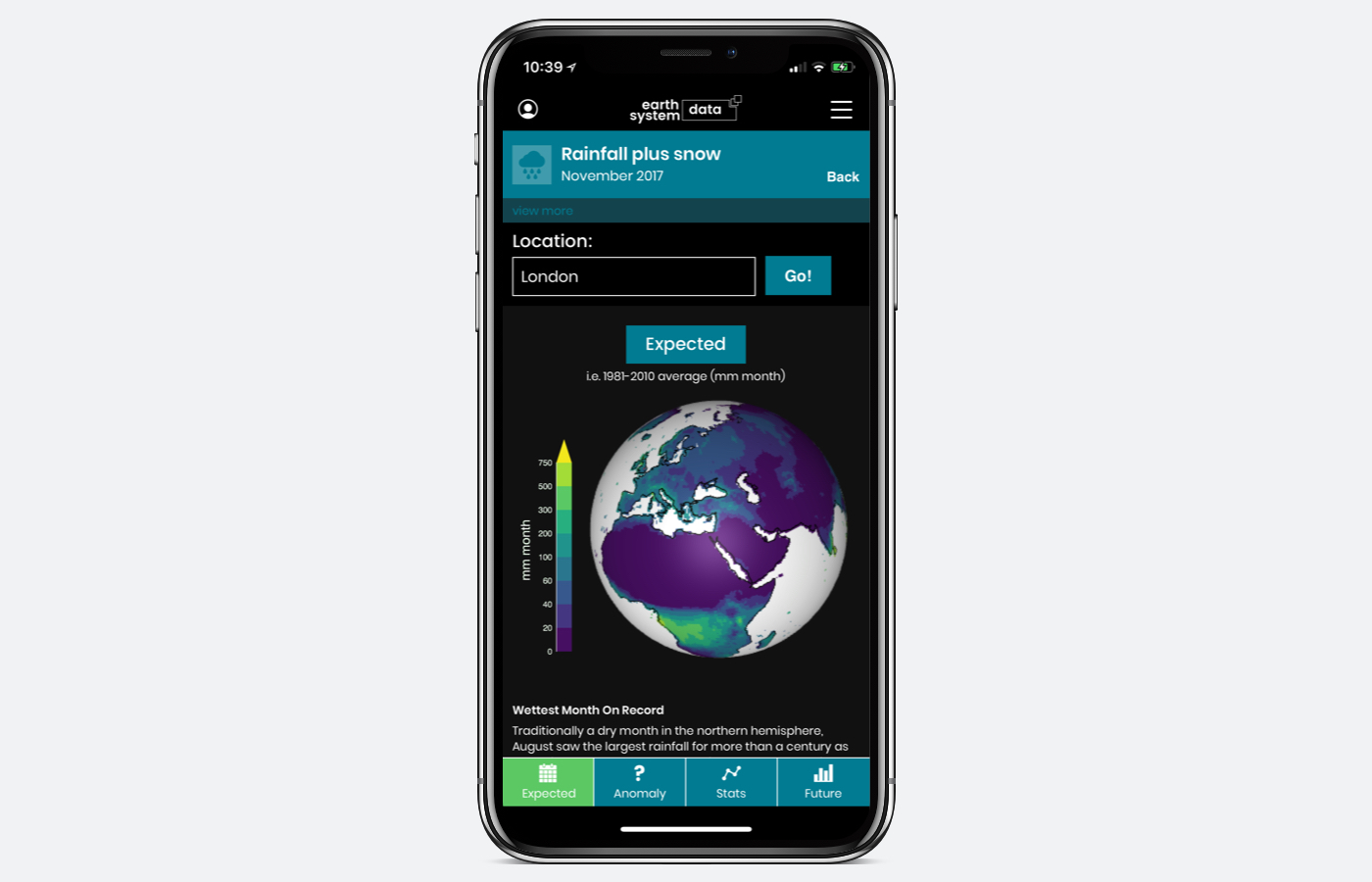 EarthSystemData launches iOS and Android Apps