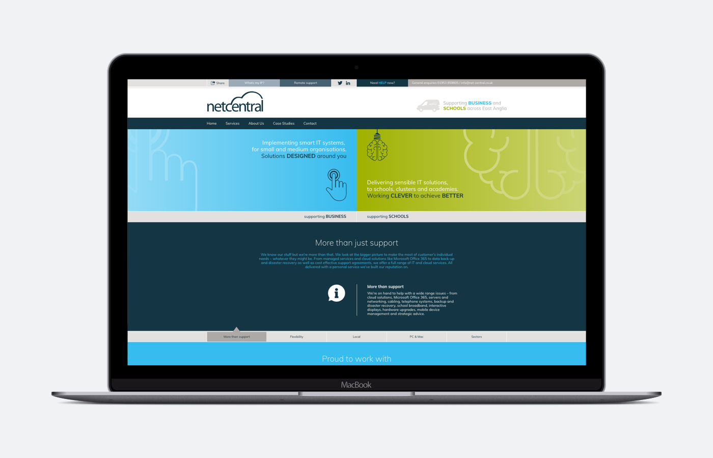 Netcentral website updated