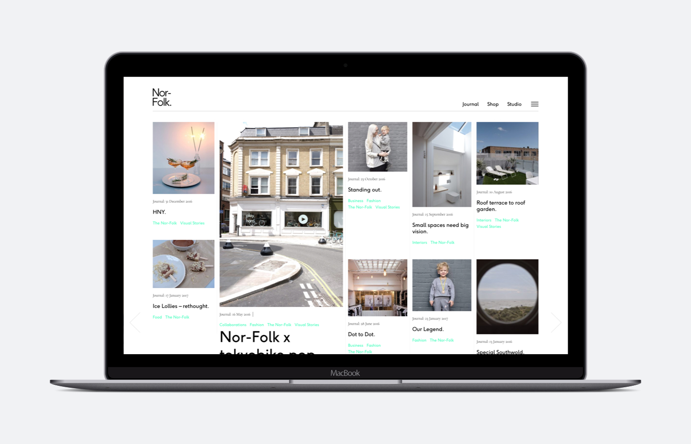 Nor–Folk's website updated