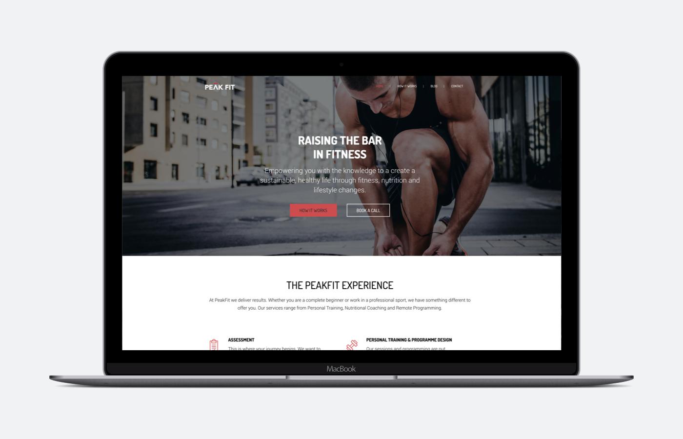 Peak Fit's website launches
