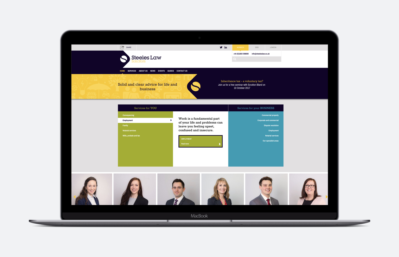 Steeles Law website launches