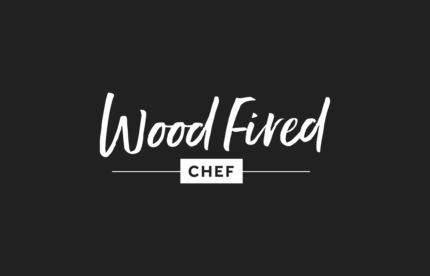 New Brand Identity: Wood Fired Chef